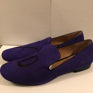 Banana Republic Purple Suede Shoes Flats